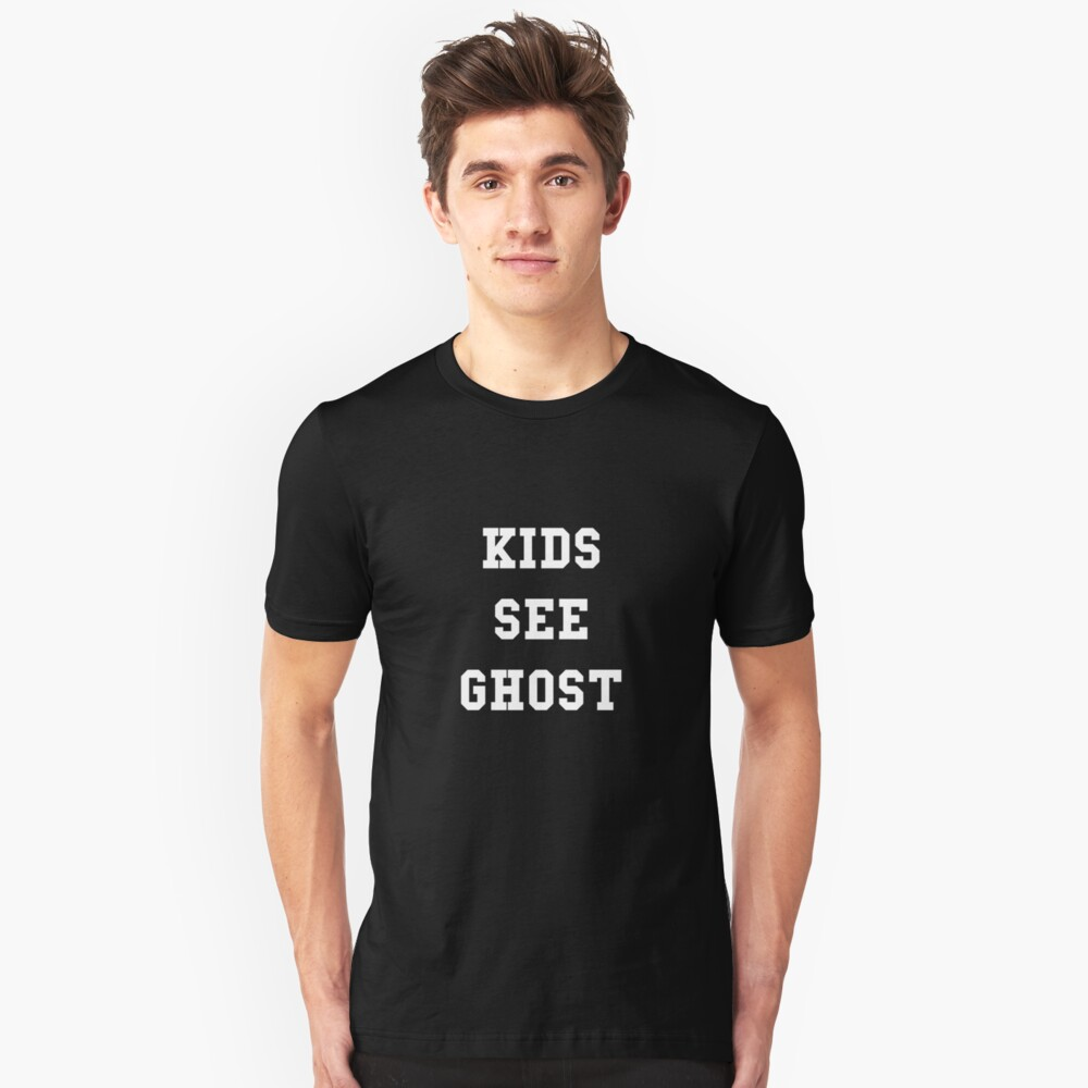 Kids See Ghost Unisex T-Shirt Front
