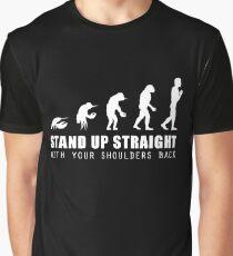 Jordan Peterson | meme | lobster evolution | Stand up straight Graphic T-Shirt