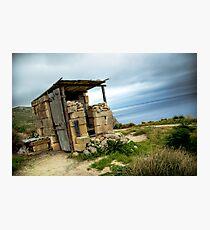 Maltese Hunter's Lodge Photographic Print