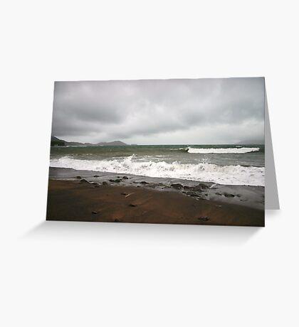 Kerry Beach in Winter Greeting Card