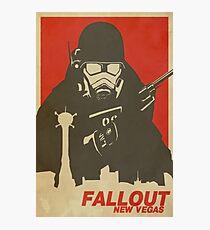 Fallout New Vegas Poster (Fallout NV) Photographic Print