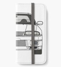 Nissan Skyline R33 GT-R (front) V2.0 iPhone Wallet/Case/Skin