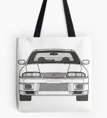 Nissan Skyline R33 GT-R (front) V2.0 Tote Bag