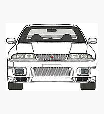 Nissan Skyline R33 GT-R (front) V2.0 Photographic Print