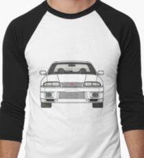 Nissan Skyline R33 GT-R (front) V2.0 Baseballshirt für Männer