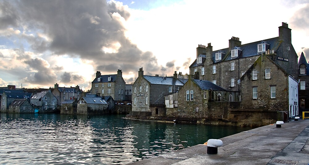 Lerwick Harbour Shetland Islands Scotland By Del419