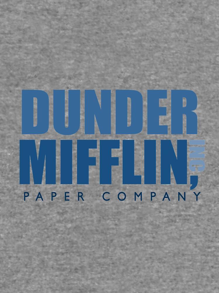 Dunder Mifflin The Office Logo by caseyward