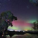 aurora australis at Forth River 20.4.2018 by gaylene