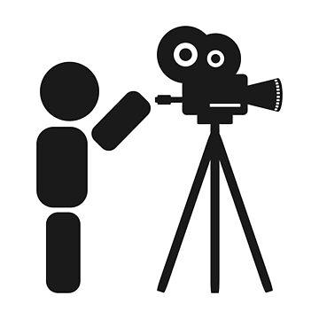 Cameraman abstract drawing by SooperYela