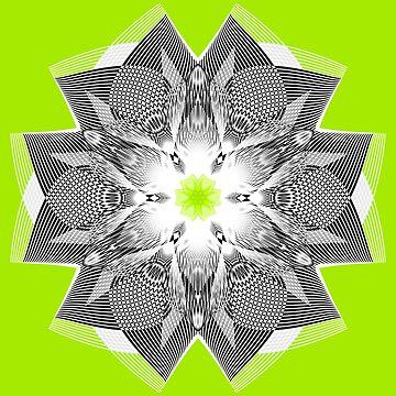 Flowerlike Green by Rosh