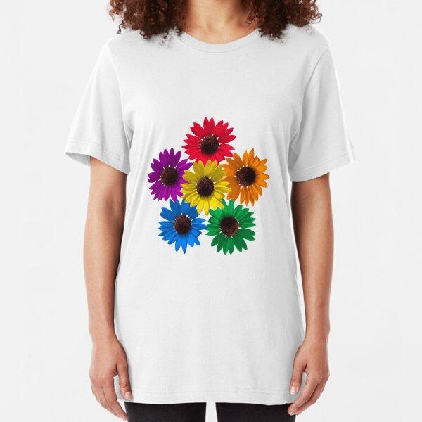 Sunflower Pride Slim Fit T-Shirt