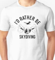 de155aa3 Time is Precious Skydiving T-Shirt - Cool Funny Nerdy Comic Graphic Skydiver  Skydiving Humor