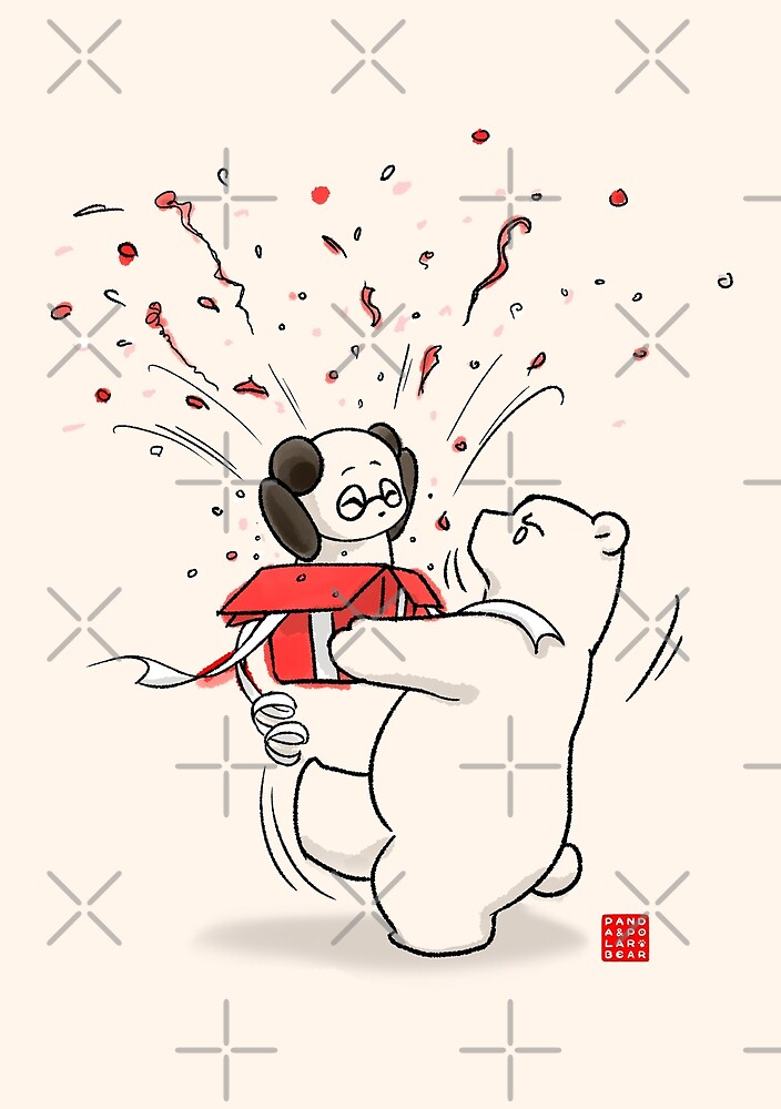 Living In The Present by Panda And Polar Bear