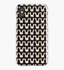 Lagomorph pattern iPhone Case