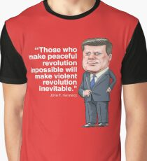 John F. Kennedy Graphic T-Shirt