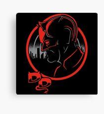 Devilish Detective Canvas Print