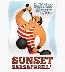 Póster Construir misa con Sass - Sunset Sarsaparilla Poster (Fallout New Vegas)