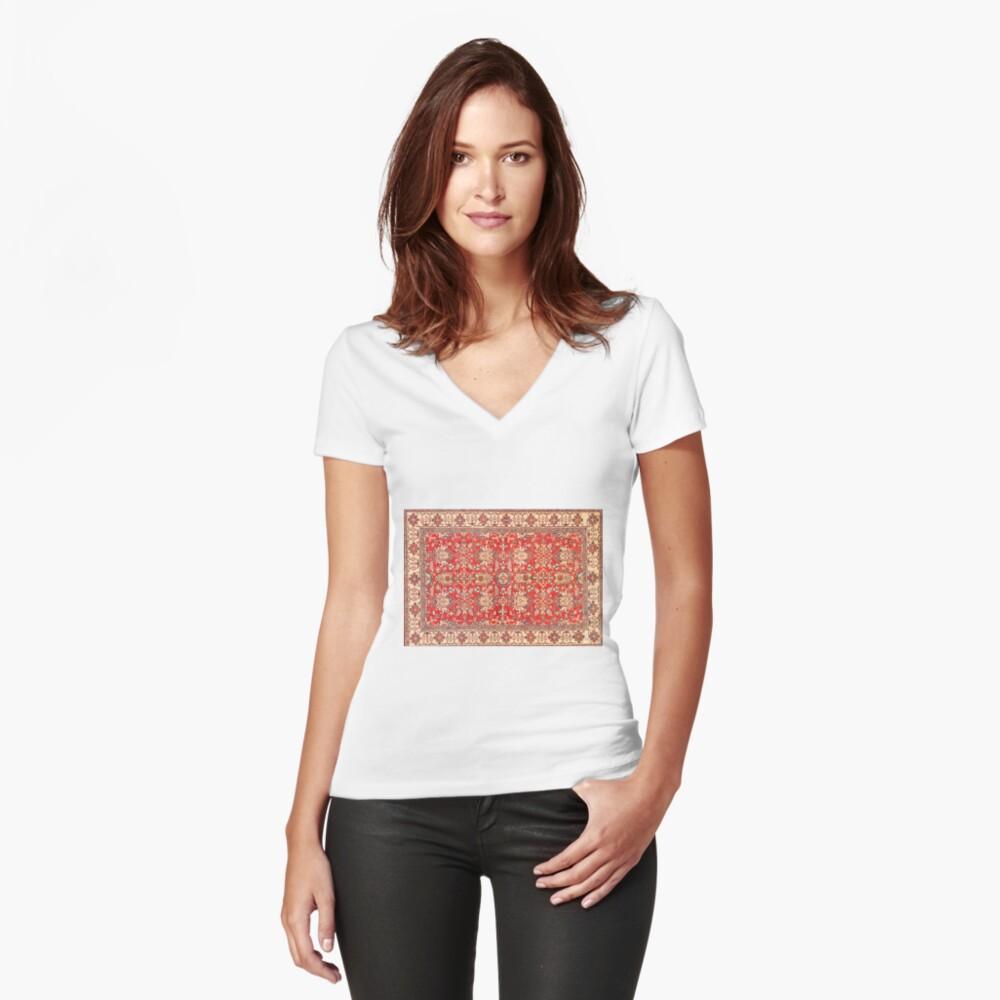 alfombra turca Camiseta entallada de cuello en V