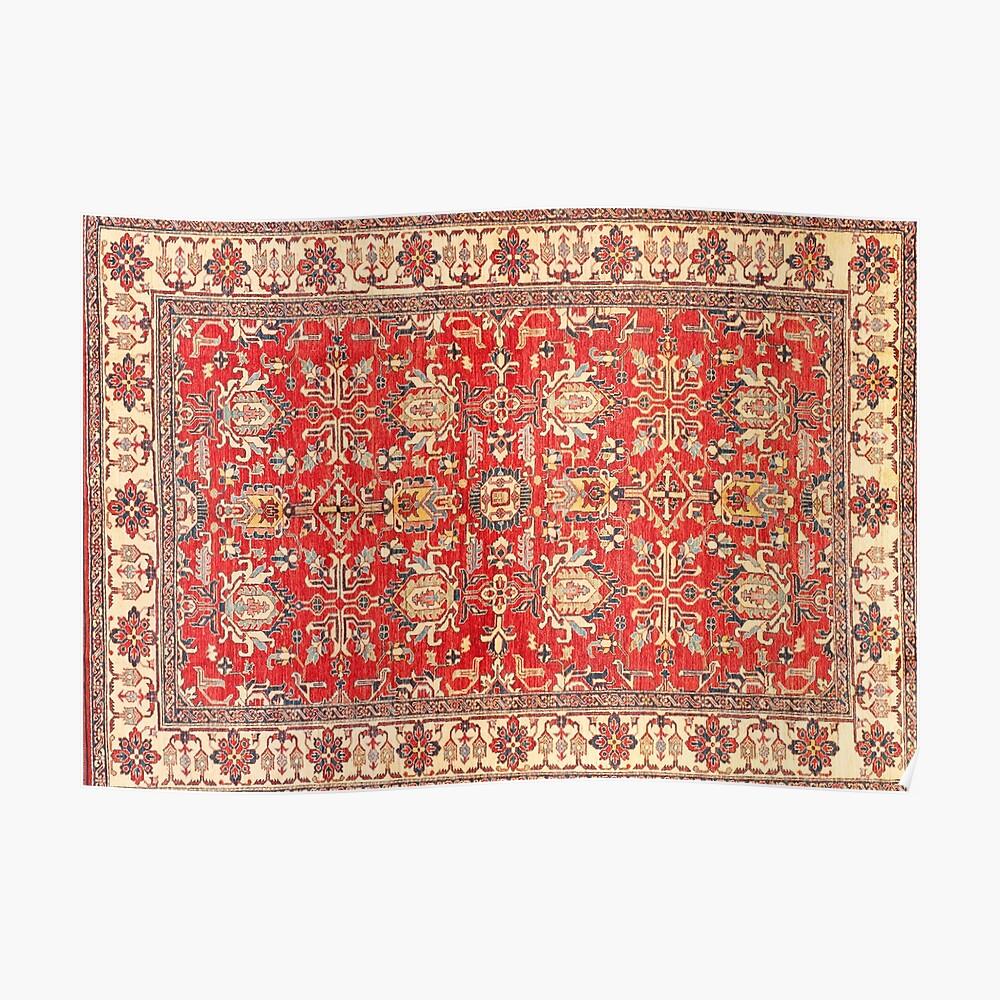 alfombra turca Póster