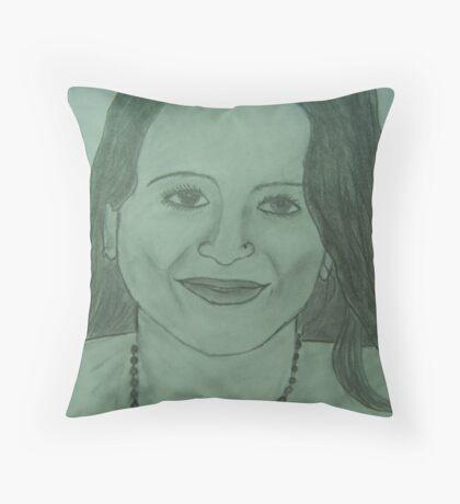 Portrait of Chandra!! Throw Pillow