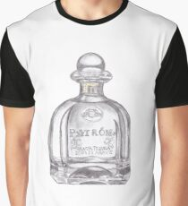 Patron Tequila Bottle Graphic T-Shirt
