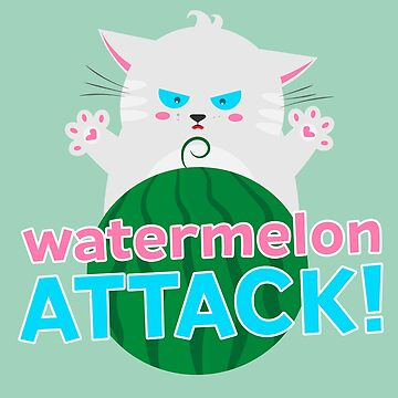 Watermelon attack! by mysteryof