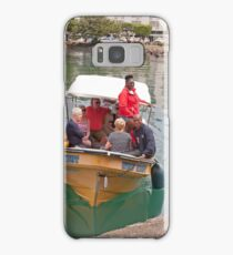Small boat in St Lucia Samsung Galaxy Case/Skin