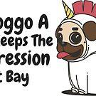 Depression Saving Doggo by Castiel Gutierrez