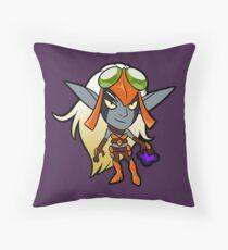Lil Maia Throw Pillow