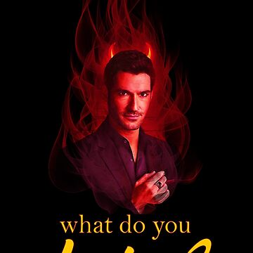 Lucifer Morningstar - What do you desire? by vivalvon