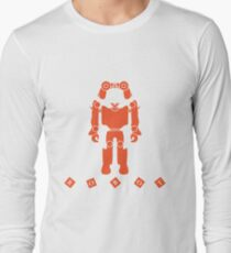 Toys for children: robot, remote control, cubes. Long Sleeve T-Shirt