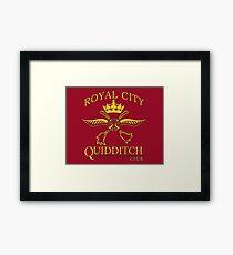 Royal City Quidditch Logo Framed Print