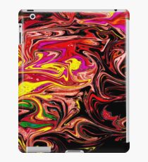 Psychedelic Red iPad Case/Skin