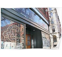 store front Poster