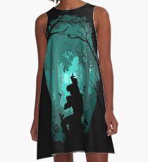 Vestido acampanado Zelda - Ocarina en el bosque
