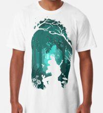 Camiseta larga Zelda - Ocarina en el bosque