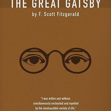 Der große Gatsby von F Scott Fitzgerald - größte Bücher Serie von scienceispun