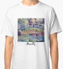 Monet - Japanische Brücke Classic T-Shirt