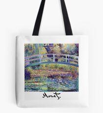 Monet - Japanese Bridge Tote Bag