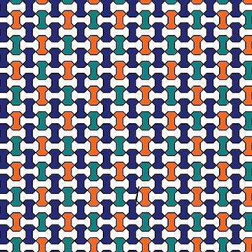 Spanish Palace Mosaic Tile Pattern by CarterCooper