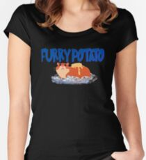 Furry Industries Women's Fitted Scoop T-Shirt