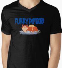Furry Industries Men's V-Neck T-Shirt
