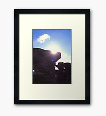 Brimham Rocks Framed Print