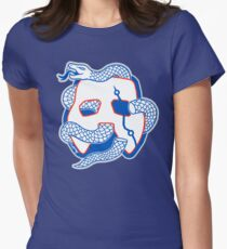 Embiid Mask Unite Women's Fitted T-Shirt
