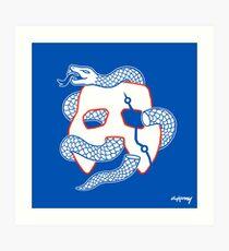 Embiid Mask Unite Art Print