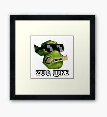 Zug Life Framed Print
