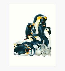 Penguin Dream Art Print