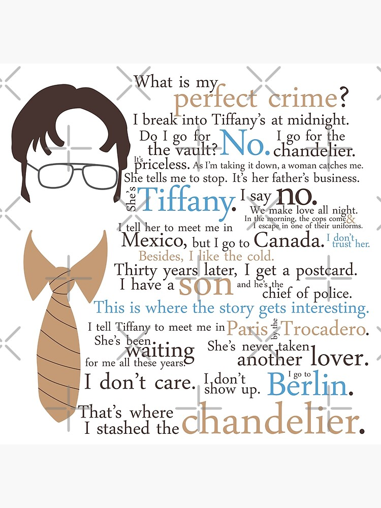 Dwight's Perfect Crime by jennifuh