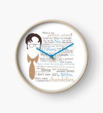 Dwight's Perfect Crime Clock