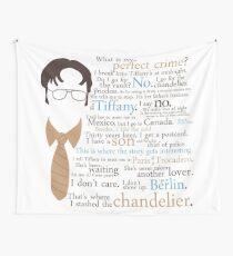 Dwights perfektes Verbrechen Wandbehang